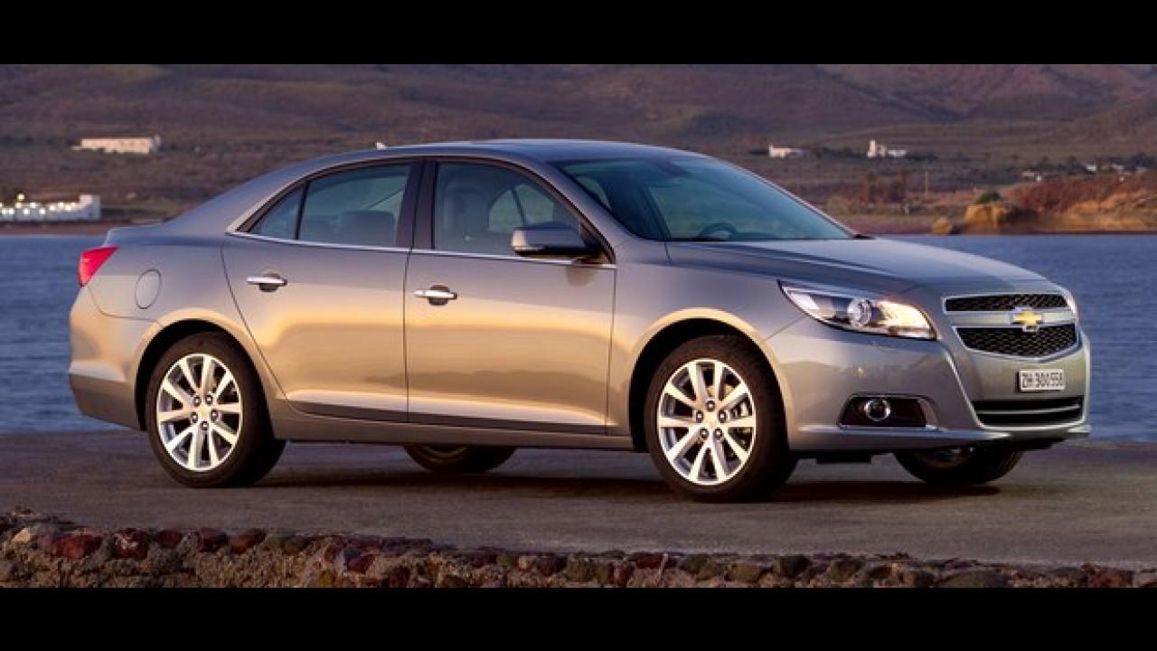 """Chevrolet venderá somente 101 unidades do """"novo"""" Malibu no Brasil por R$ 105 mil"""