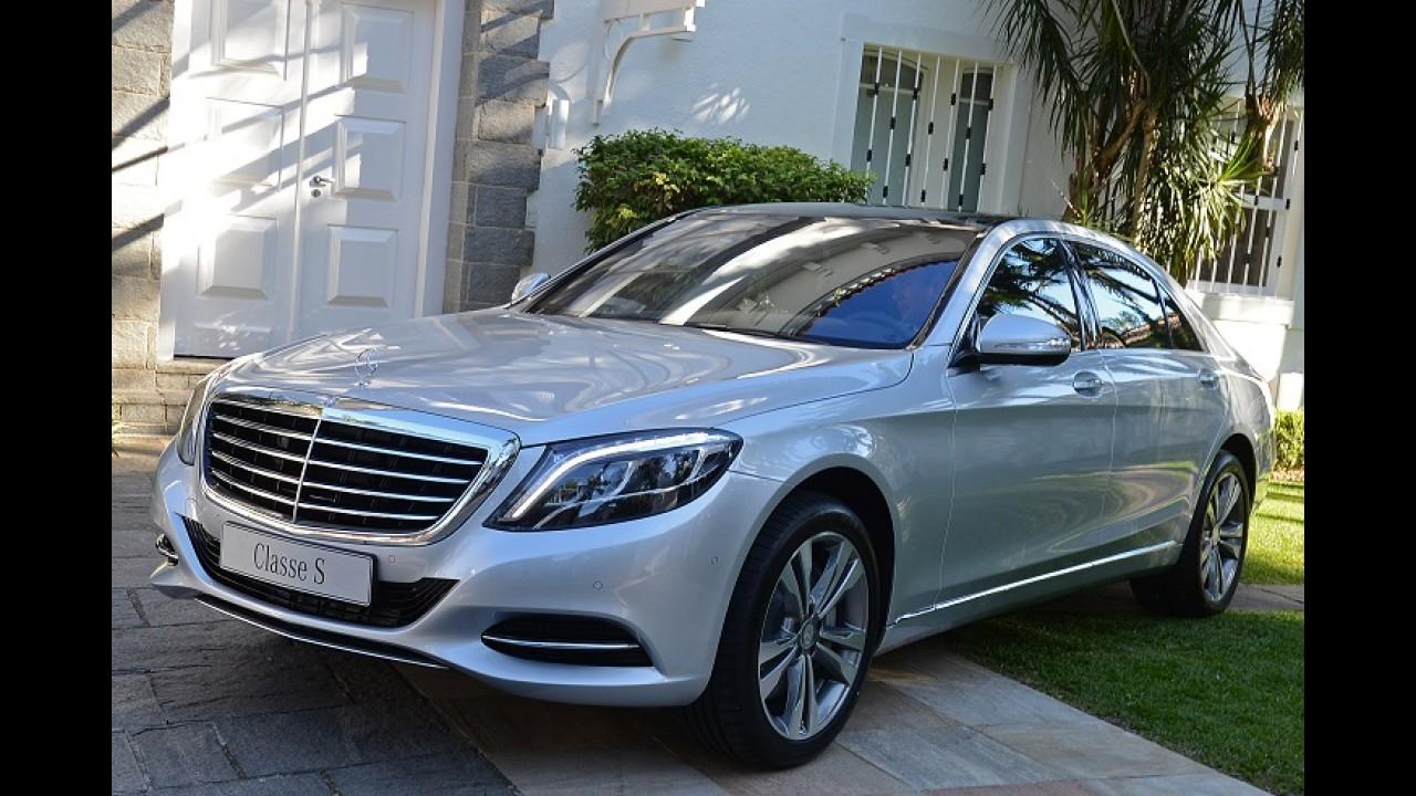 Mercedes-Benz lança nova geração do Classe S no Brasil por R$ 605 mil