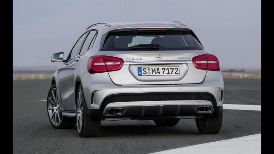 Vídeo: Mercedes GLA 45 AMG, um dos crossovers mais rápidos do mundo