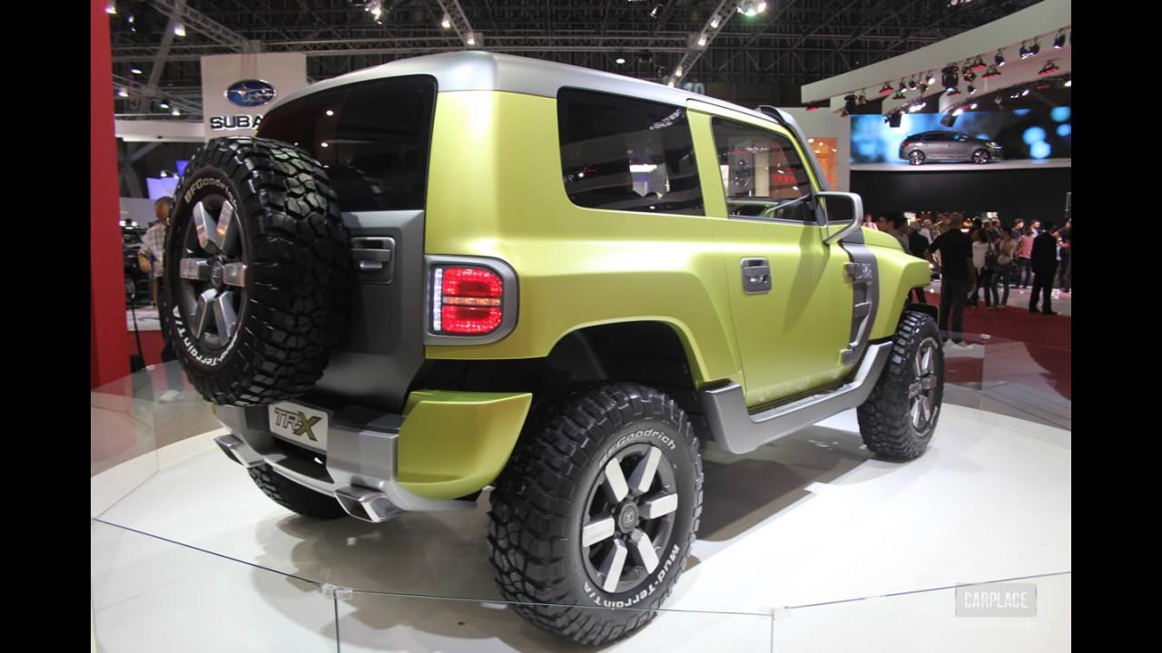 Troller apresentará versão de produção do conceito TR-X no primeiro semestre de 2013
