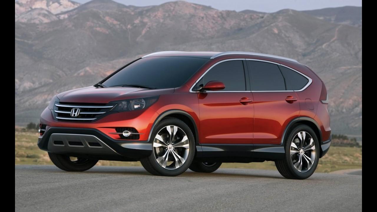 Este é o Novo Honda CR-V - Marca divulga primeira foto oficial