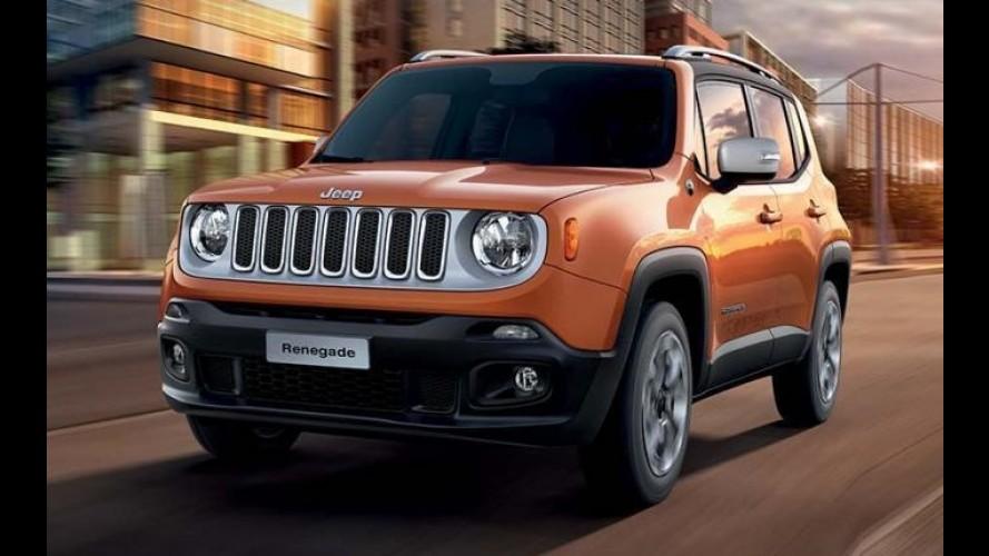 """Jeep Renegade terá edição especial de lançamento """"Opening"""""""