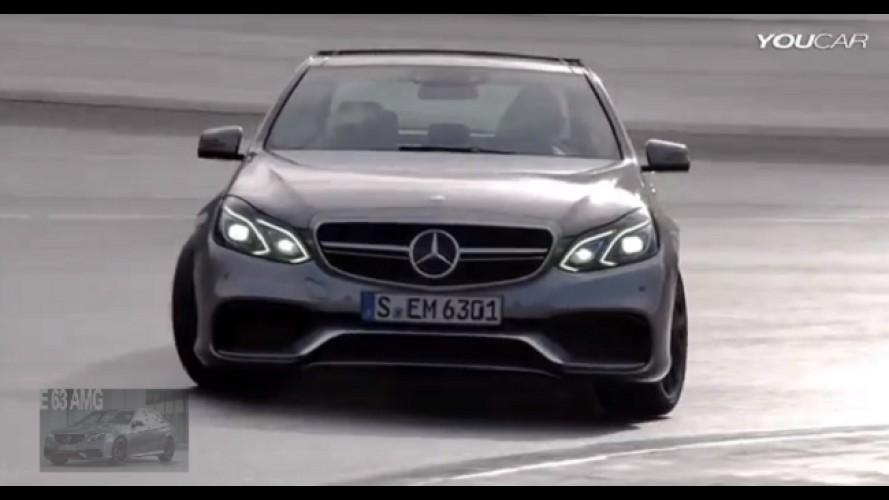 VÍDEO: O ronco do V8 do novo Mercedes E63 AMG
