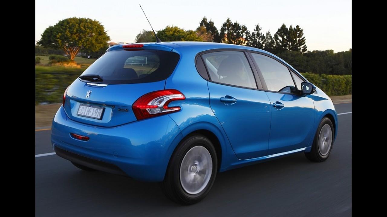 Peugeot 208 ganha câmbio automatizado ETG na Europa