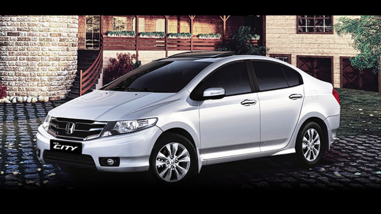 Honda City 2012: Modelo reestilizado é lançado na Índia por R$ 24.400