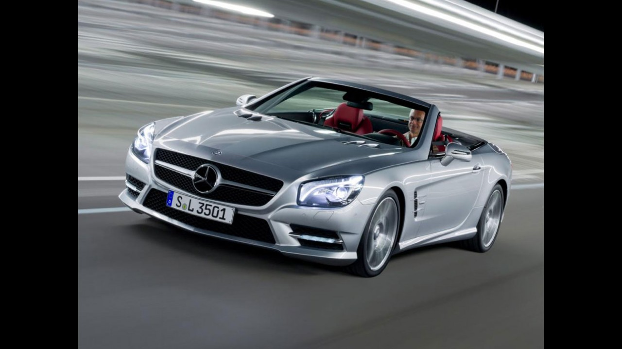 VÍDEOS: Detalhes do novo Mercedes SL