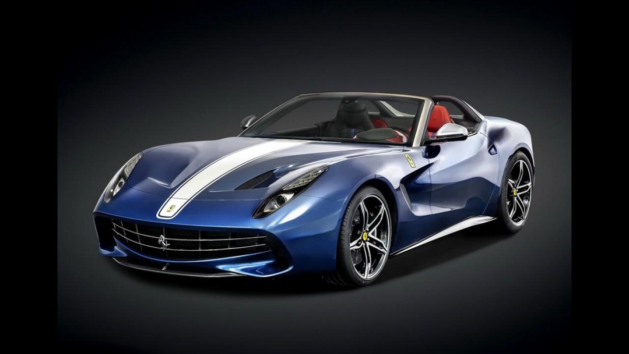 Ferrari F60 America é edição limitada conversível só para norte-americanos