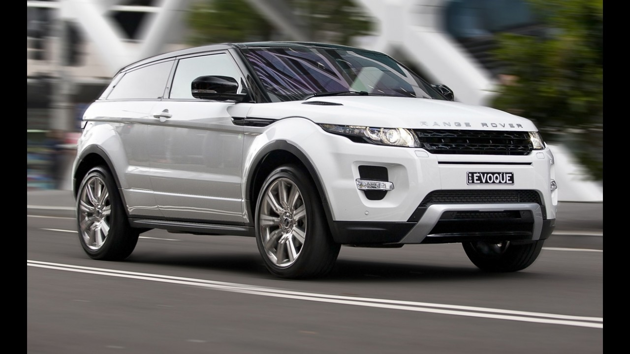 Há um ano no mercado, Ranger Rover Evoque contabiliza quase 80 mil unidades vendidas