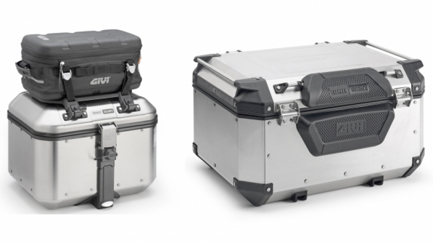 GIVI, nuovi accessori per i top case Trekker
