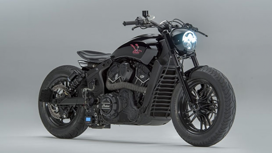 "Indian Scout Sixty, la versione di ""Road Runner"""