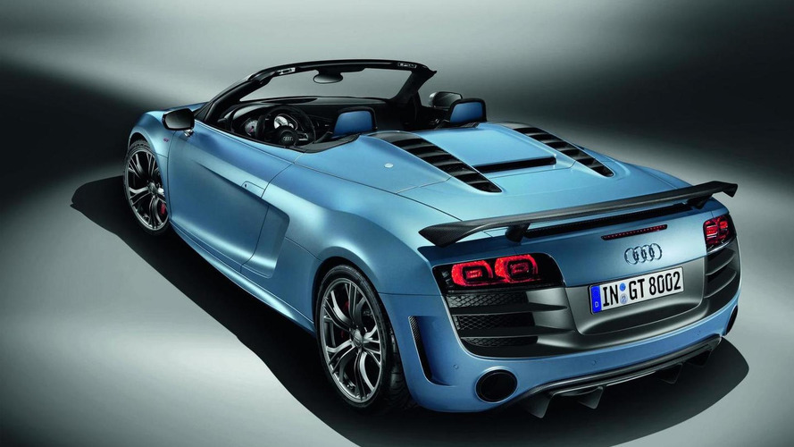 Audi R8 GT spyder promo released [video]