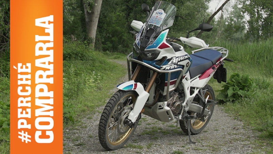 Honda Africa Twin Adventure Sports: Perché comprarla... e perché no [VIDEO]