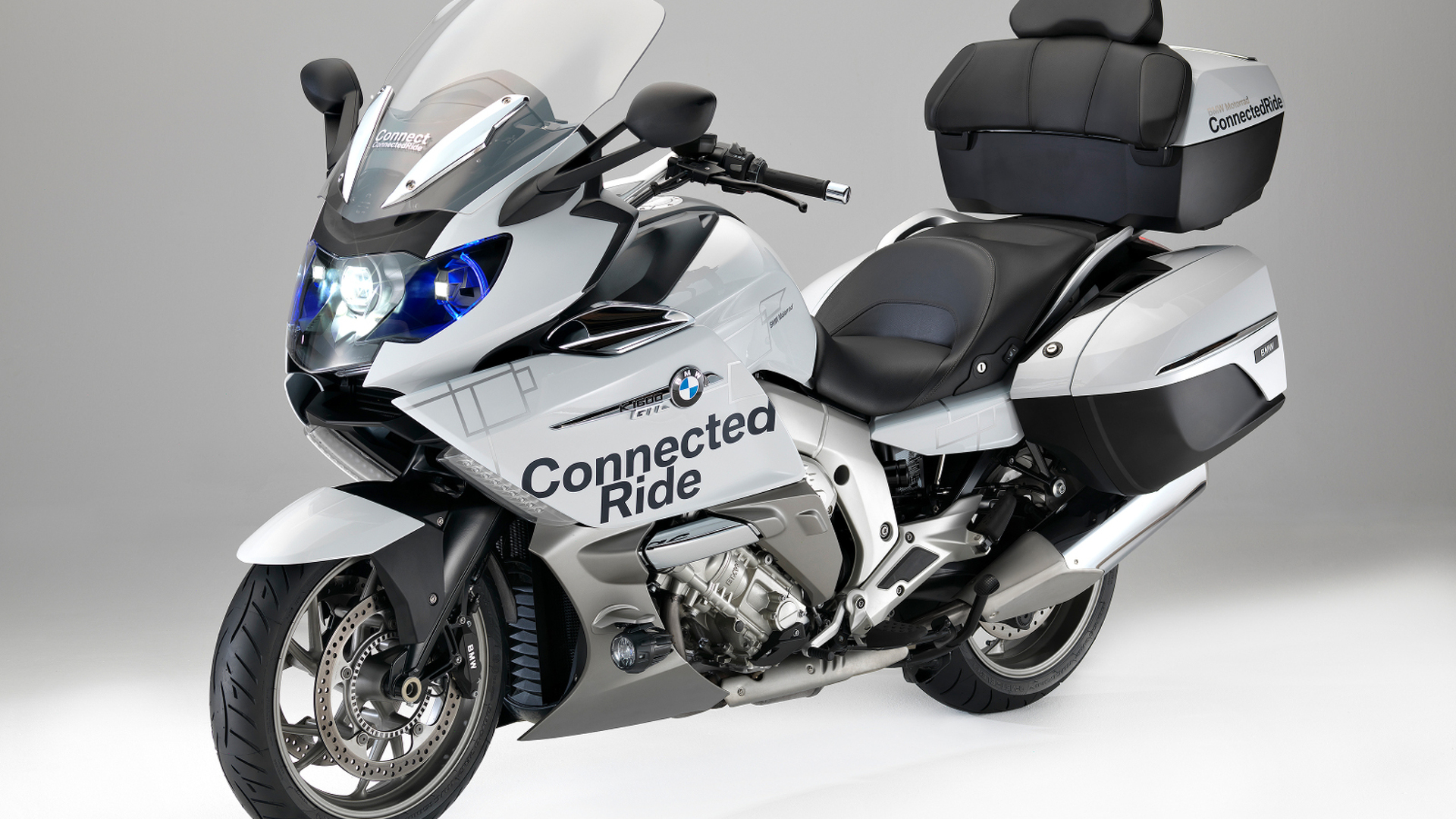 bmw k 1600 gtl concept unveiled with laser headlights