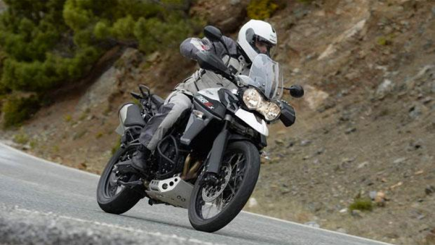 Triumph Tiger 800 XCx 2015 - TEST