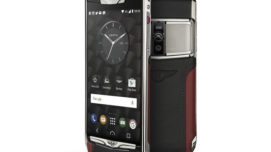 Bentley and Vertu launch fancy $9,000+ smartphone