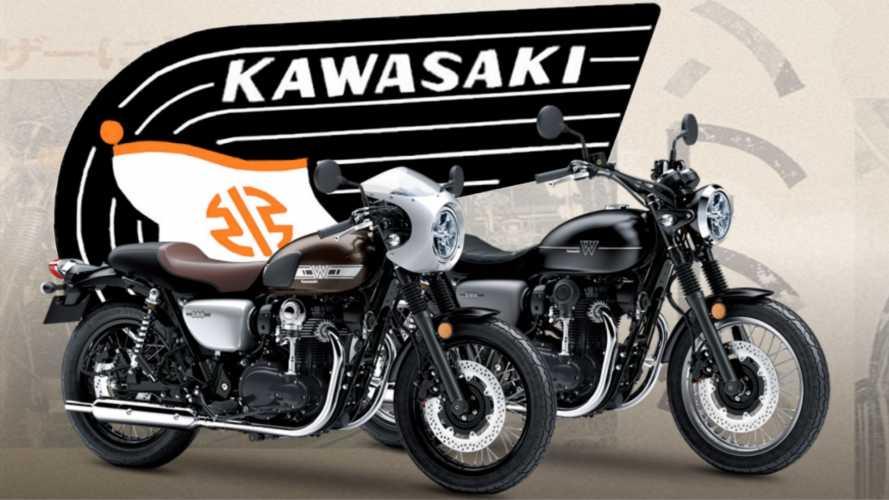 Kawasaki: torna il marchio Meguro?