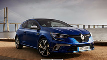 Renault Megane Coupe GT rendering