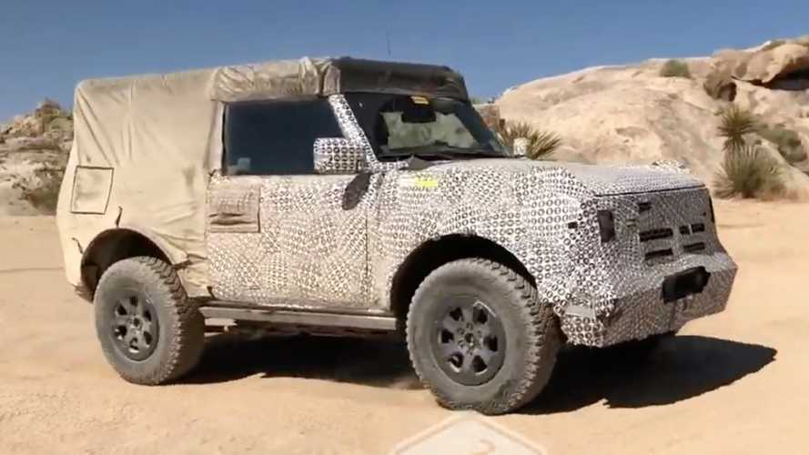 2021 Ford Bronco Shows Off Its Nifty Trail Turn Assist Feature