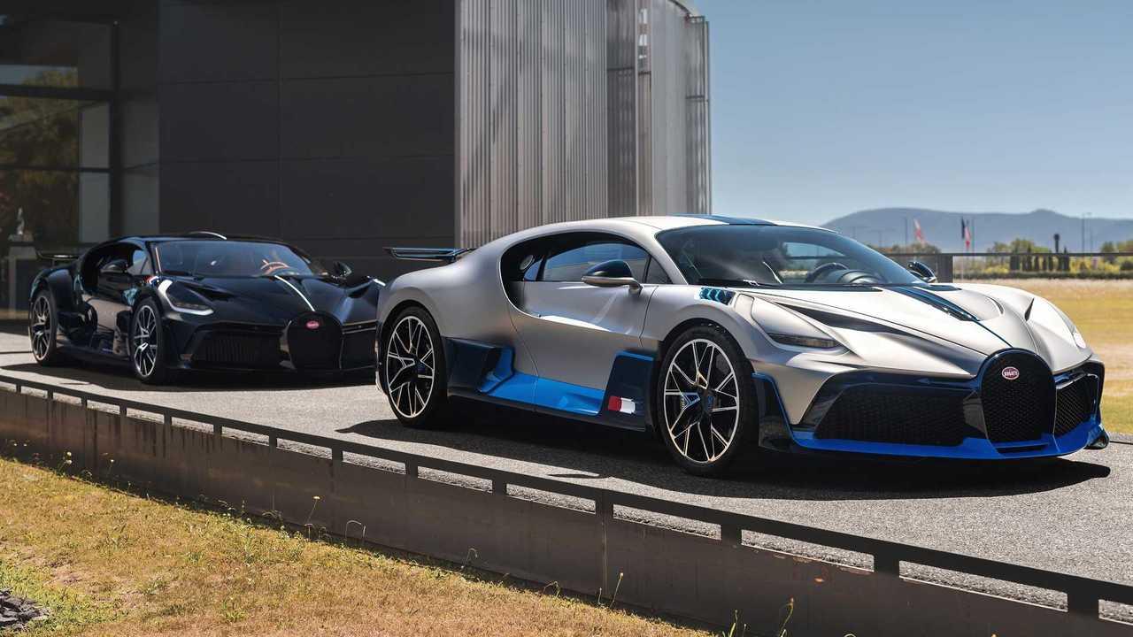 Bugatti Divo Front 3/4