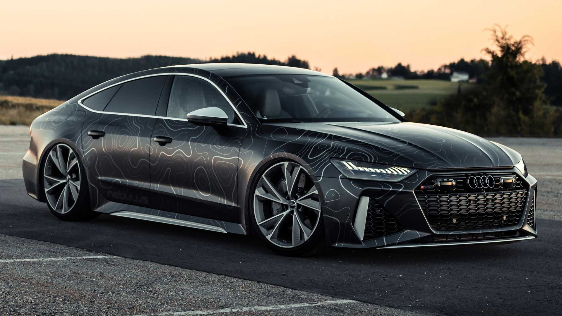2020 Audi Rs7 Gets 962 Horsepower And Funky Wrap From Tuner