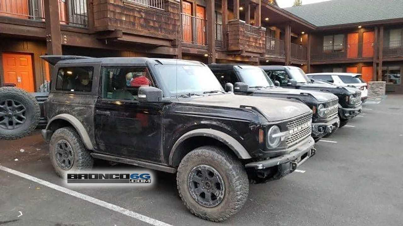 2021 Ford Bronco Rubicon Trail Aftermath Lineup