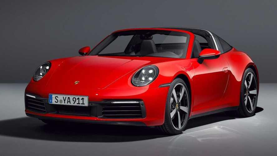 Novo Porsche 911 Targa completa linha com câmbio manual de 7 marchas