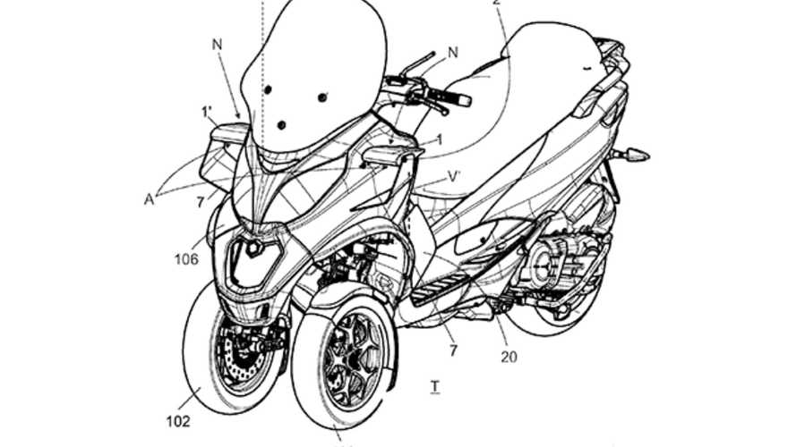 Piaggio brevetta l'aerodinamica attiva... Per il nuovo MP3