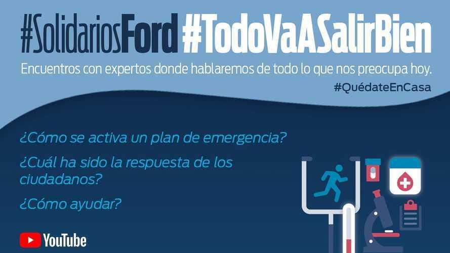Ford y Cruz Roja: así actúan ante la pandemia
