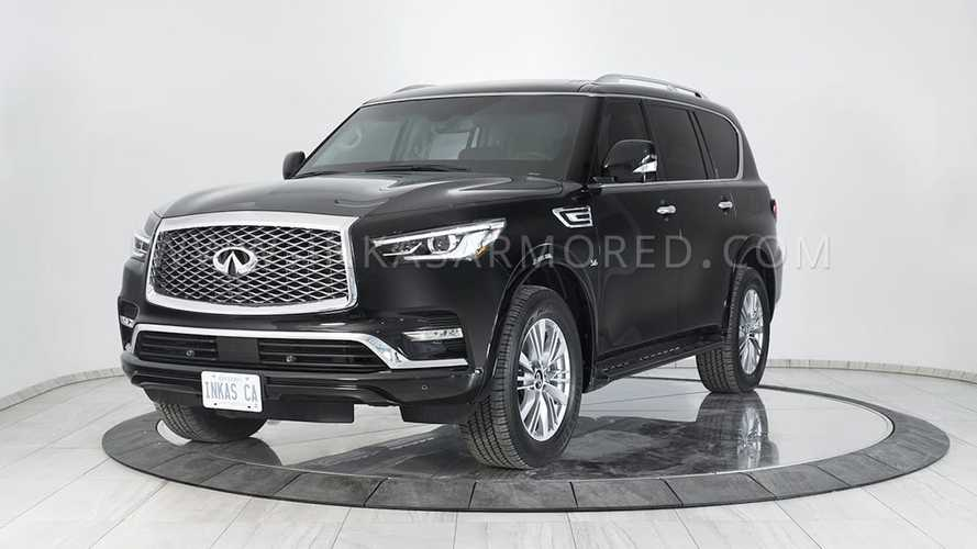 Inkas Armors Infiniti QX80 To Withstand Rifle Bullets, Hand Grenades