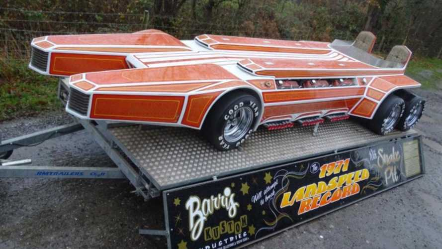 The sextet V8 George Barris SnakePit dragster is up for sale!
