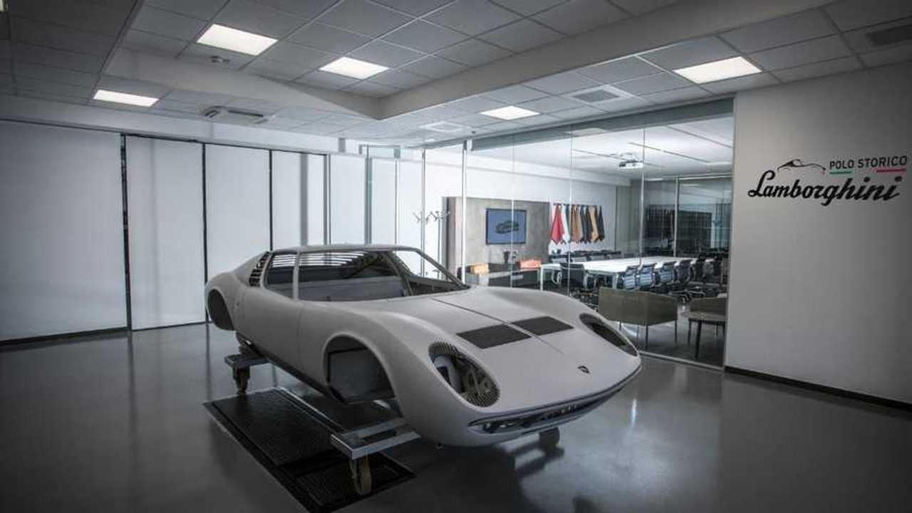Inside Polo Storico: Where classic Lamborghinis are reborn