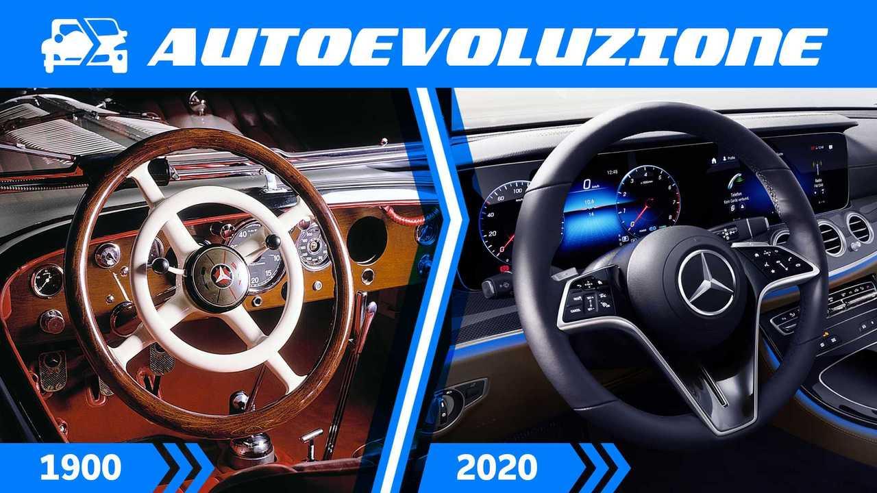 Mercedes, 120 anni di evoluzione del volante