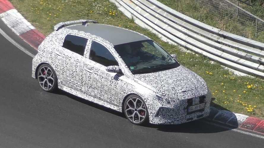 Hyundai i20 N Spied In Motion Attacking The Nurburgring