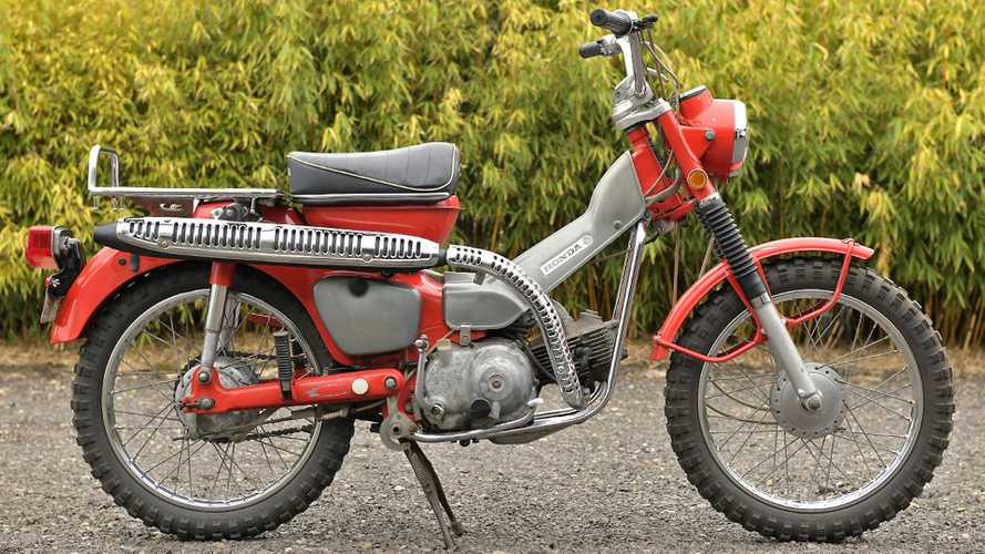 If You Want This Honda CT90, Act Fast