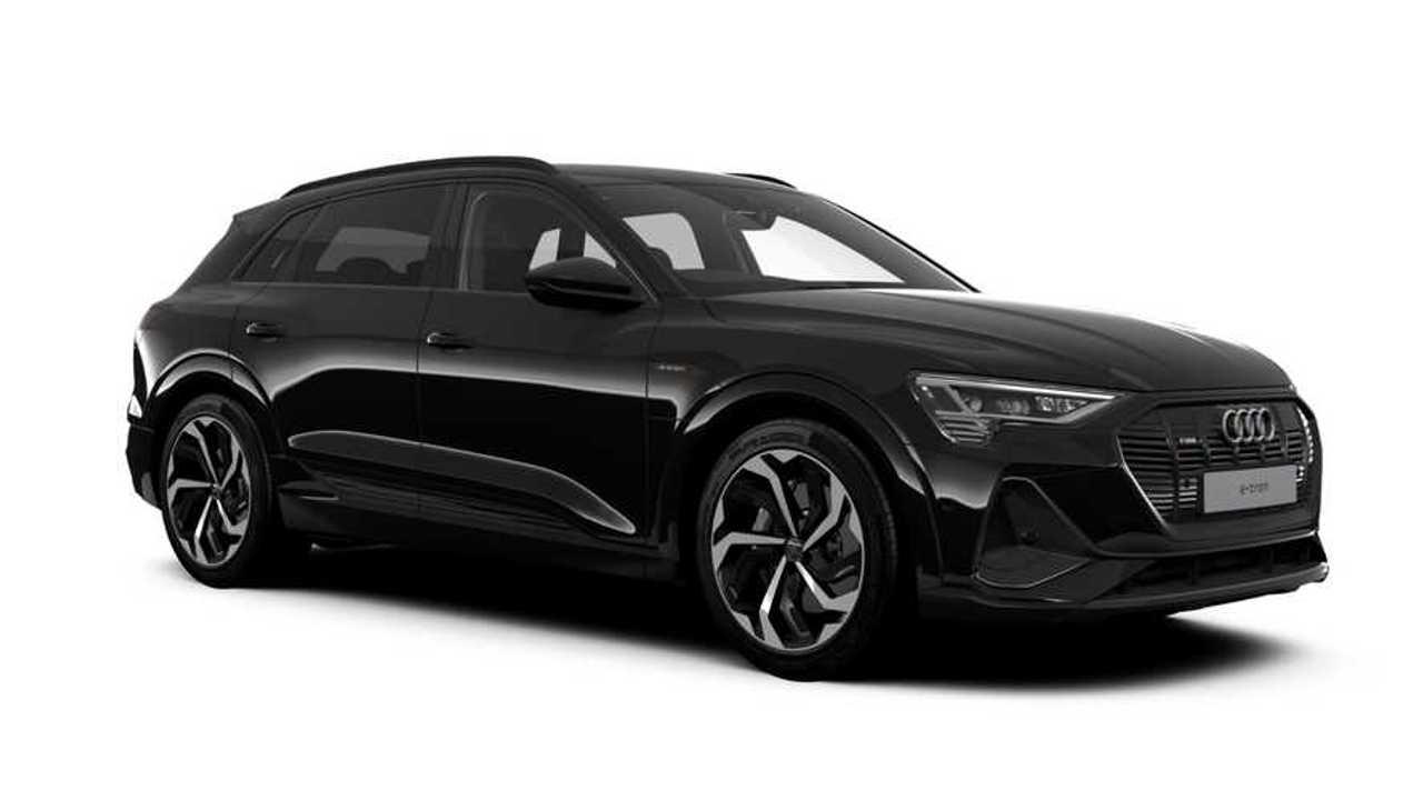 2020 Audi e-tron 50 Quattro Black Edition