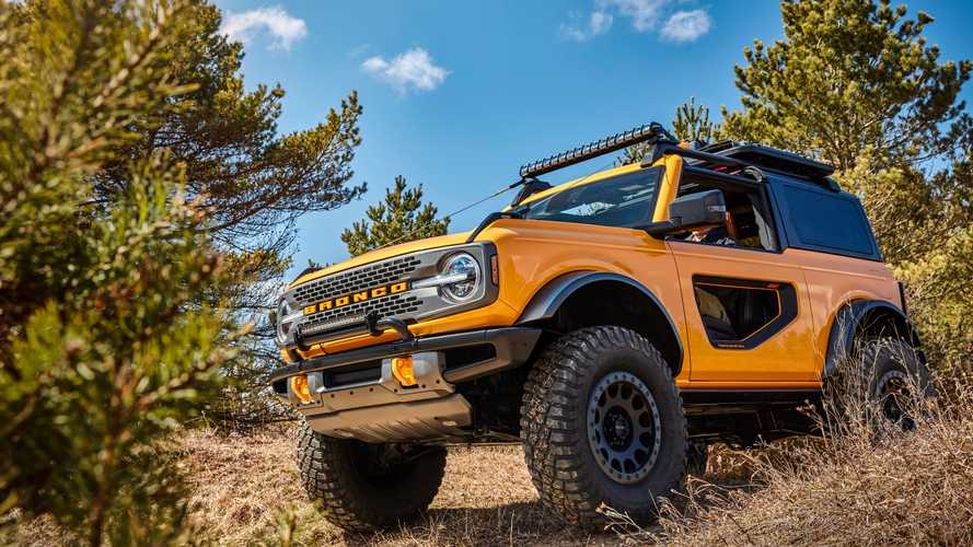 2021 Ford Bronco Tube Doors Revealed In New Leaked Image