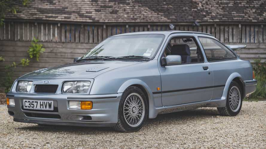 Rare Pre-Production Ford Sierra RS Cosworth Heads To The Auction Block