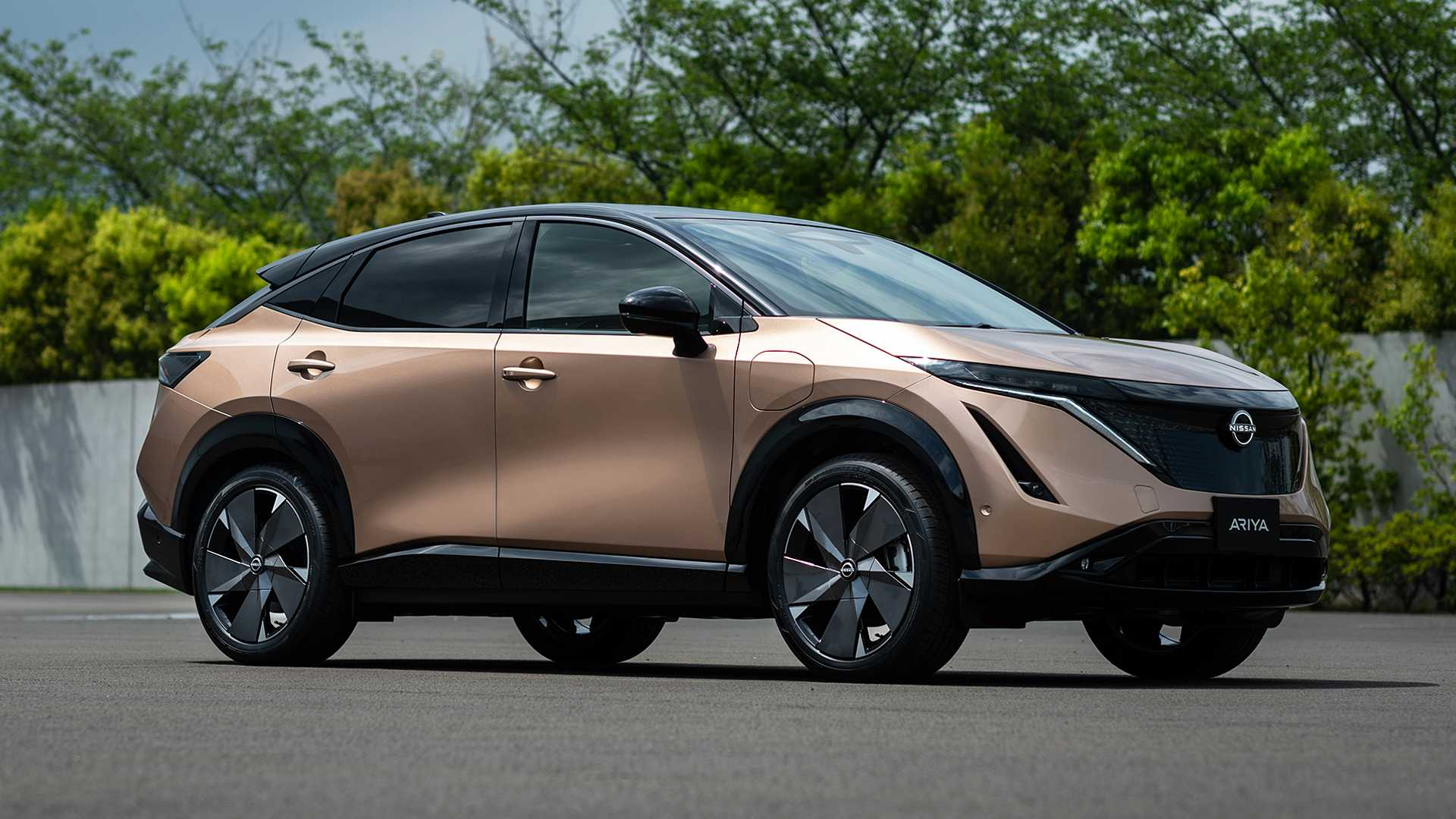 2022 Nissan Ariya electric SUV revealed with up to 310 miles of range