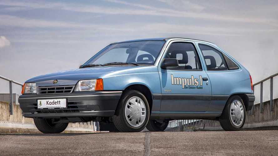 Há 30 anos, o Kadett ganhava uma versão elétrica com autonomia de 80 km