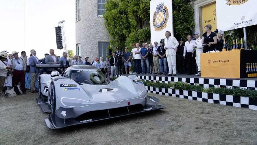 Электрокар Volkswagen ID.R побил рекорд скорости в Гудвуде, установленный на машине «Формулы-1» с мотором V10