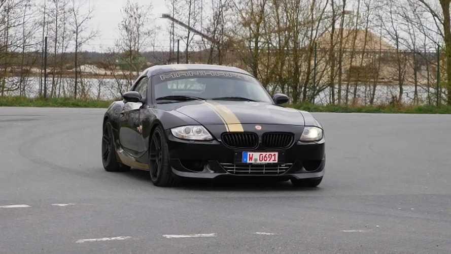 Manhart BMW Z4 M con motor V10