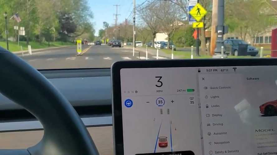 Tesla's New Crosswalk Traffic Controls May Catch You By Surprise