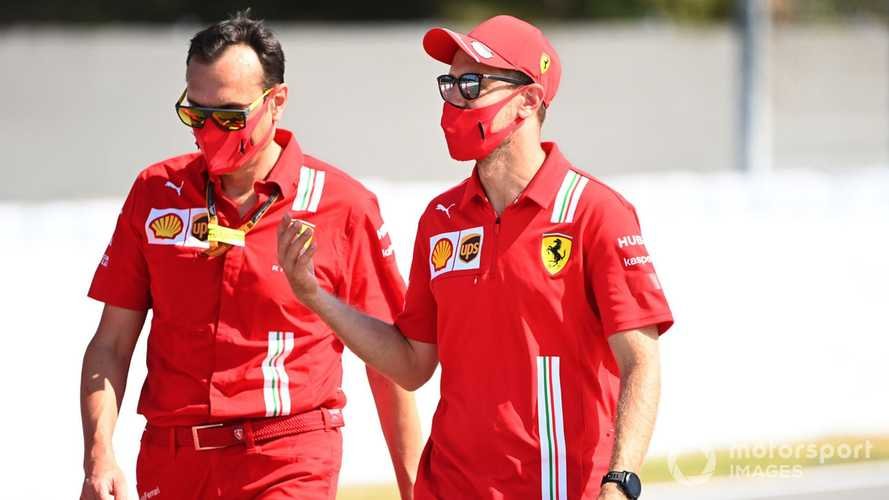 Vettel denies extra F1 tension at Ferrari after Silverstone
