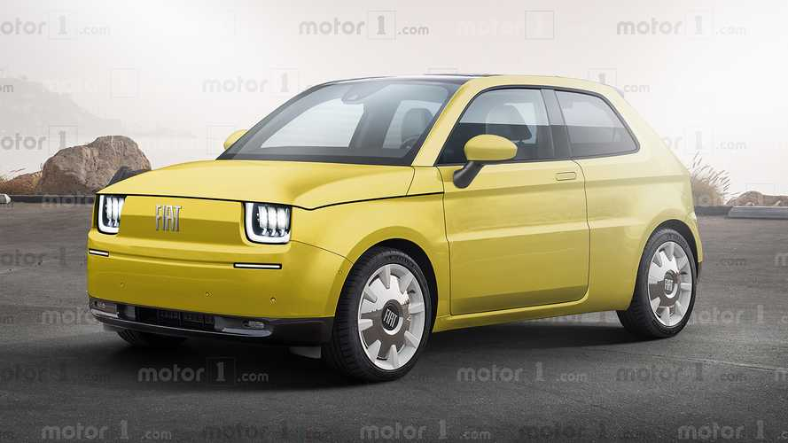 Revived Fiat 126 Rendering Imagines Retro-Styled EV
