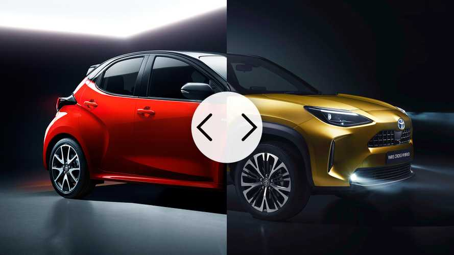 Toyota Yaris Vs Yaris Cross: What Changes Between Car And Crossover?