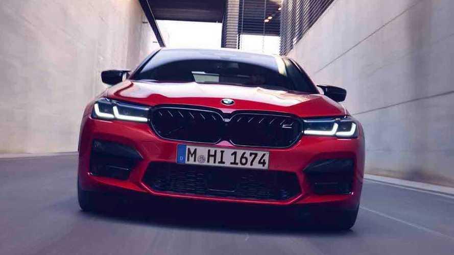 2020 BMW M5 Competition'ın, 200 km/sa hıza ulaşmasını izleyin