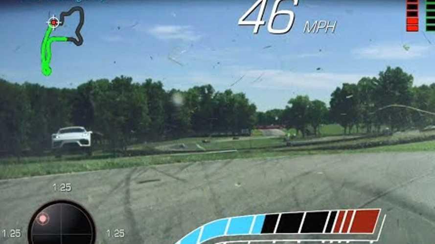 Videó: Hátrafele repülve fejezte be egy ohiói pálya nyílt napját egy Porsche Cayman GT4