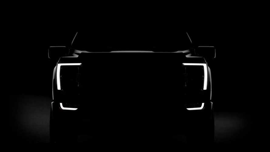 2021 Ford F-150 Teaser Photo