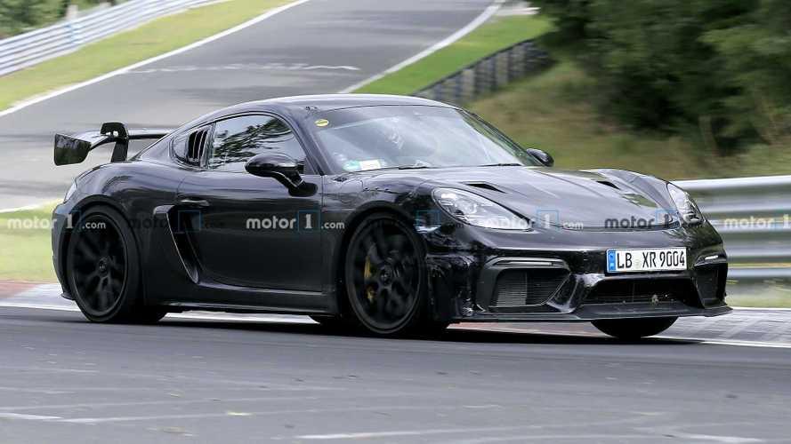 Porsche Cayman GT4 RS, Nürburgring'de yakalandı