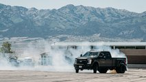 Ken Block Drifts Ford F-450